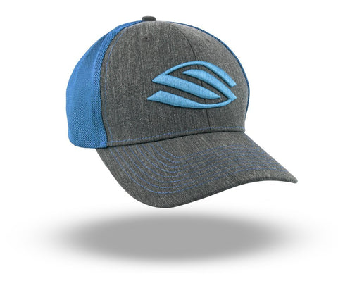 Selkirk Heather Trucker Hat (Blue) - RacquetGuys.ca