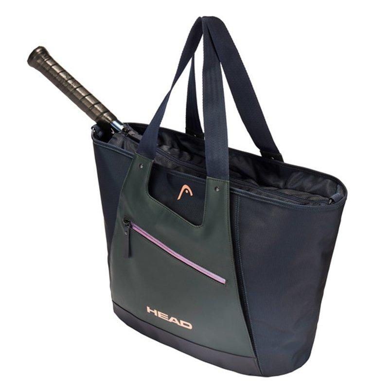 Head Club Tote Racquet Bag (Navy/Grey) - RacquetGuys