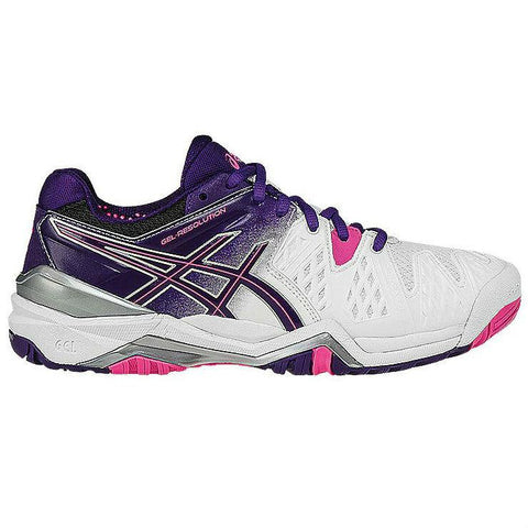Asics Gel Resolution 6 Womens Tennis Shoe - RacquetGuys