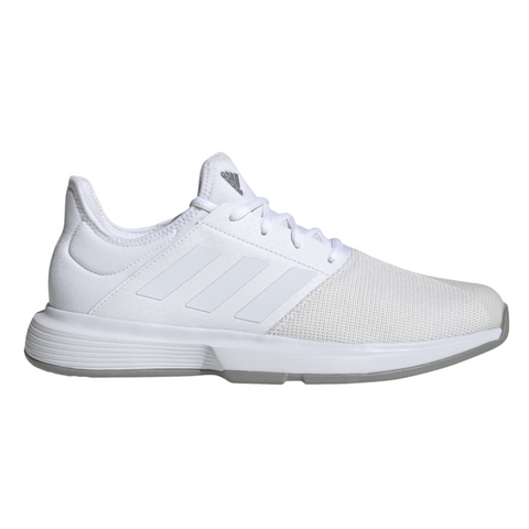adidas GameCourt Men's Tennis Shoe (White) - RacquetGuys