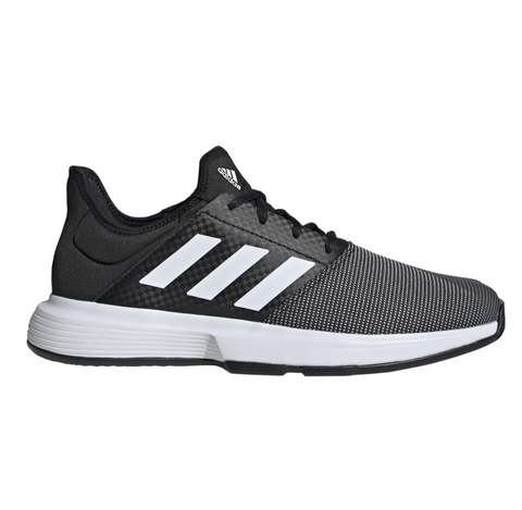 adidas GameCourt Men's Tennis Shoe (Black) - RacquetGuys
