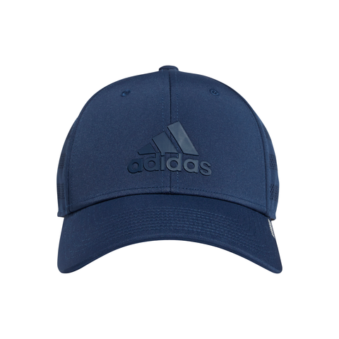 adidas Men's Gameday III Stretch Fit Hat (Navy) - RacquetGuys