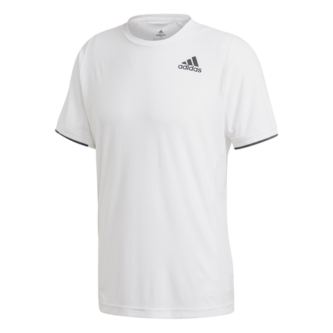 adidas Men's Freelift AeroReady Top (White) - RacquetGuys