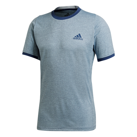 adidas Men's Freelift AeroReady Top (Grey) - RacquetGuys