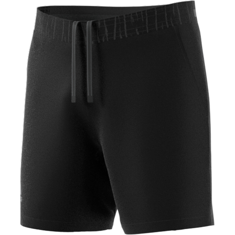 adidas Men's Ergo Aeroready 7 Inch Shorts (Black) - RacquetGuys