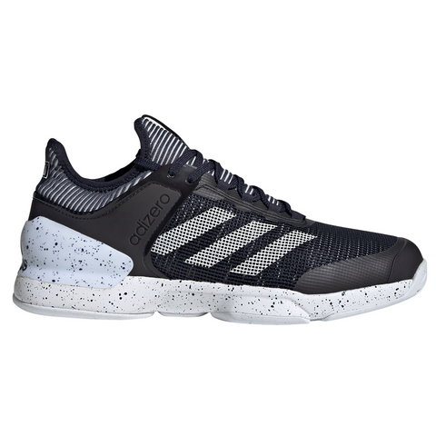 adidas Adizero Ubersonic 2 Men's Tennis Shoe (Black/White) - RacquetGuys