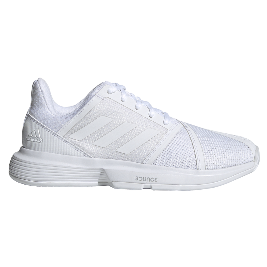 adidas CourtJam Bounce Women's Tennis Shoe (White)
