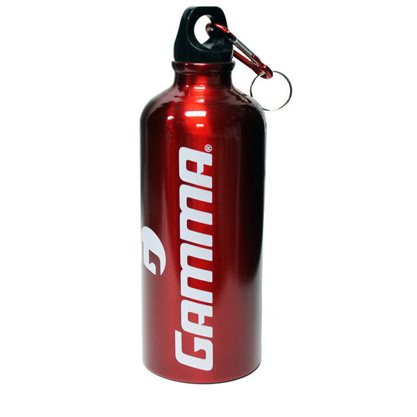 Gamma Aluminium Water Bottle (Red) - RacquetGuys