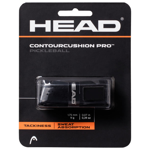 HEAD Contour Cushion Pro Pickleball Replacement Grip (Black)