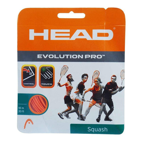 Head Evolution Pro 17 Squash String (Orange)