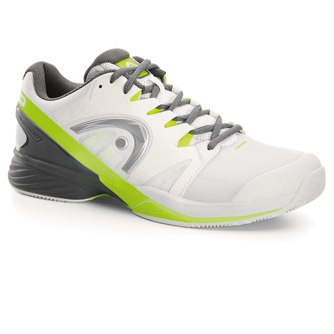 HEAD Nitro Pro Mens Clay Tennis Shoe (White/Yellow)