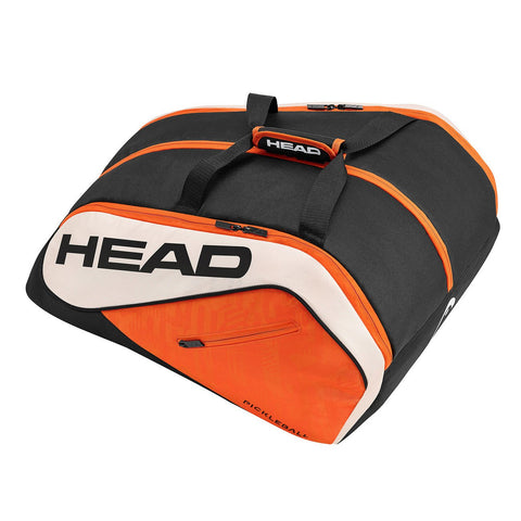 Head Tour Team Supercombi 10 Pack Pickleball Bag (Black/Orange/White)