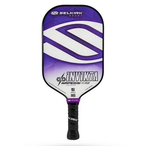 Selkirk Amped Invikta Lightweight 2020 (Amethyst Purple) - RacquetGuys