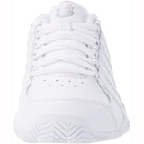 K-Swiss BigShot Light Womens Tennis Shoe (White/Silver)