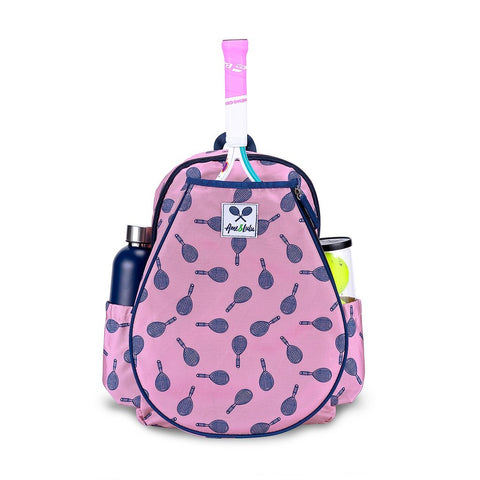 Ame & Lulu Little Love Tennis Backpack (Mini Racquets)