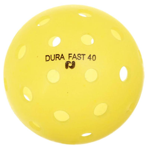 Dura Fast 40 Outdoor Pickleball Ball (Yellow)