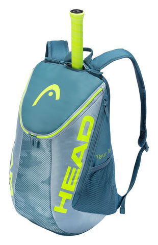 Head Tour Team Extreme Backpack Racquet Bag (Yellow/Grey) - RacquetGuys