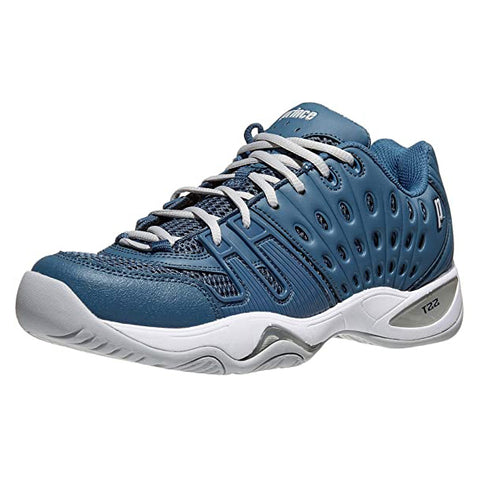 Prince T22 Men's Tennis Shoe (Navy/Grey)