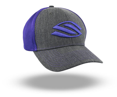 Selkirk Heather Trucker Hat (Purple) - RacquetGuys.ca