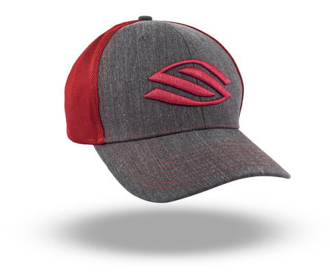 Selkirk Heather Trucker Hat (Red) - RacquetGuys.ca
