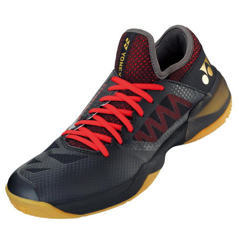 Yonex Power Cushion Comfort Z2 Men's Indoor Court Shoe (Black/Red)
