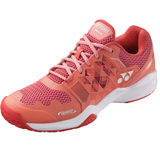 Yonex Power Cushion Sonicage Women's Tennis Shoe (Coral) - RacquetGuys