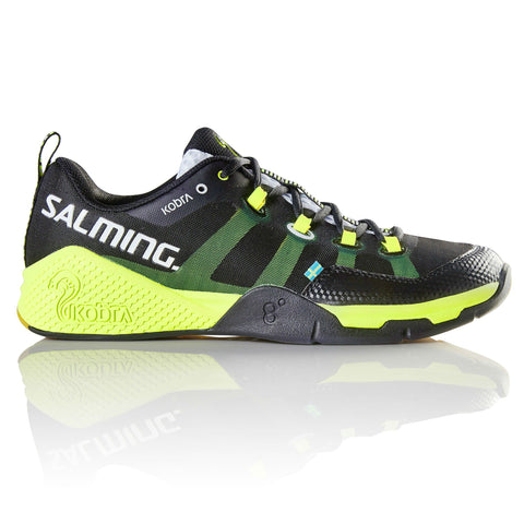 Salming Kobra Mens Indoor Court Shoe (Black/Yellow)