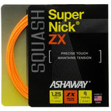 Ashaway SuperNick ZX 17 Squash String (Orange) - RacquetGuys