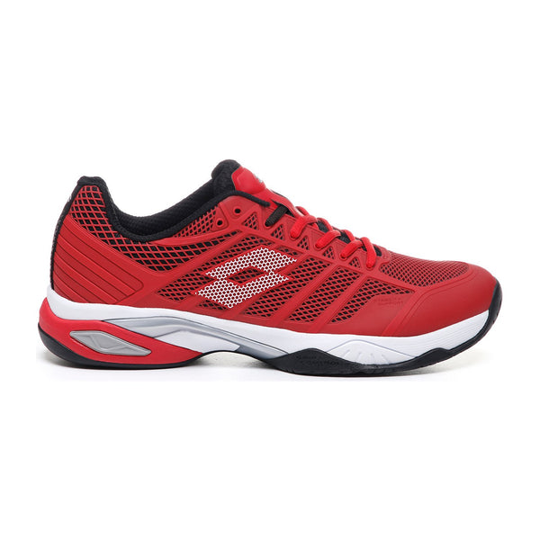 Lotto Viper Ultra IV Speed Men's Tennis Shoe (Red/Black)