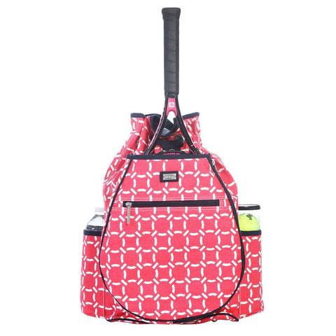 Ame & Lulu Kingsley Cabana Racquet Backpack