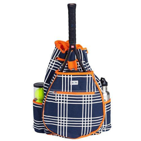 Ame & Lulu Kingsley Abbey Plaid Racquet Backpack