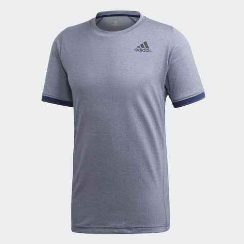 adidas Men's Game Set Freelift Top (Dark Grey) - RacquetGuys
