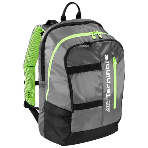 Tecnifibre ATP Tour Racquet Backpack (Grey/Green/Black)