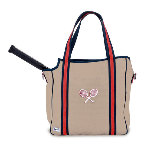 Ame & Lulu Vintage Sport Chester Tennis Tote