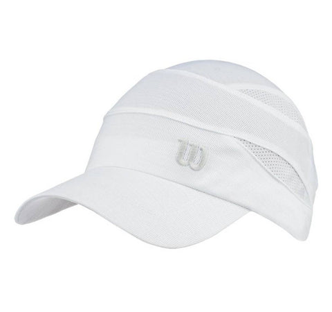 Wilson Women's Rush Knit Cap (White) - RacquetGuys
