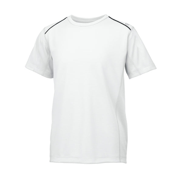 Wilson Boys nVision Elite Top (White) - RacquetGuys
