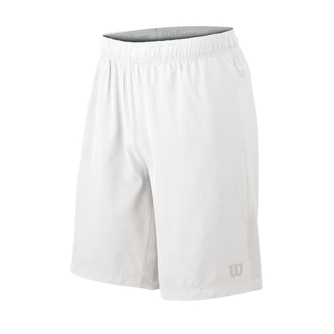 Wilson Mens Hybrid Stretch Woven Shorts (White)