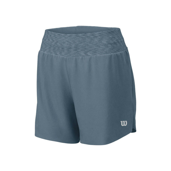 Wilson Womens Sporty Short 3 Inseam (Blue Mirage)