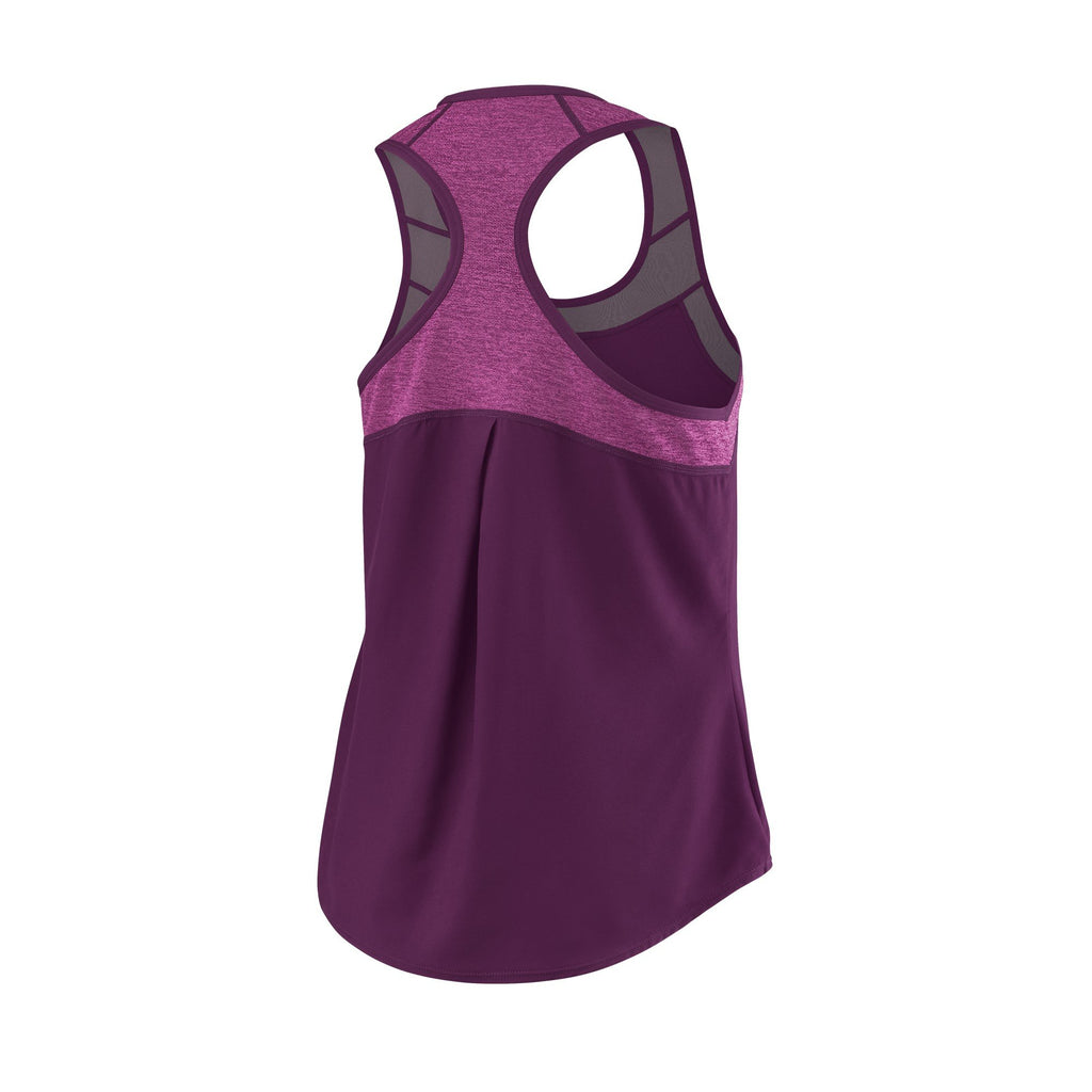 Wilson Womens UWII Hybrid Tank Top (Dark Purple) - RacquetGuys
