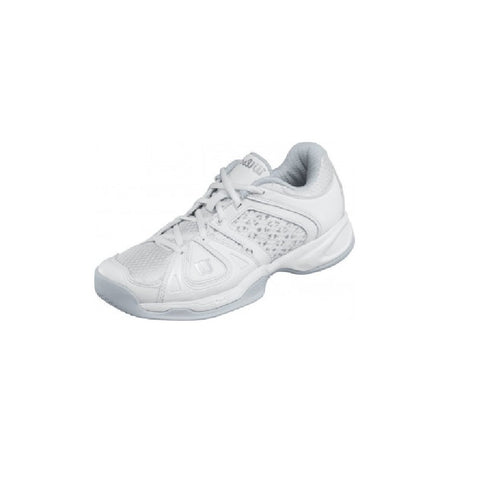 Wilson Stance Elite Women's Tennis Shoe (White/Grey)