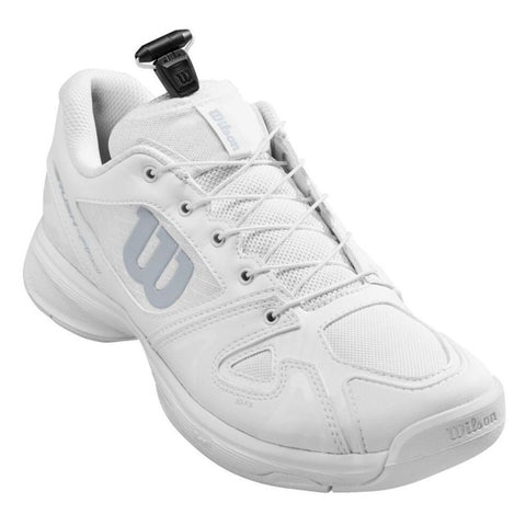 Wilson Rush Pro QL Junior Tennis Shoe (White) - RacquetGuys
