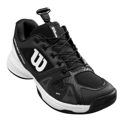 Wilson Rush Pro QL Junior Tennis Shoe (Black) - RacquetGuys