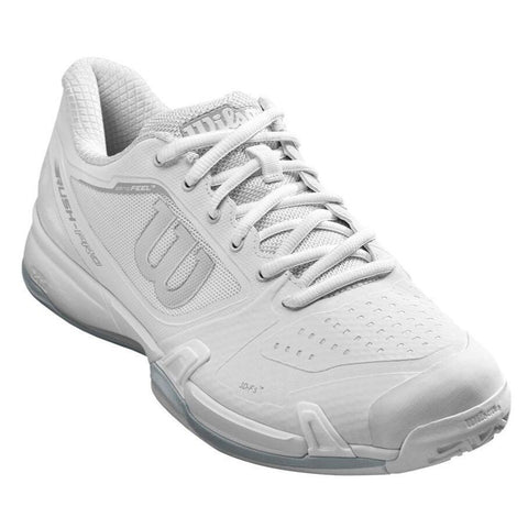 Wilson Rush Pro 2.5 Women's Tennis Shoe (White) - RacquetGuys