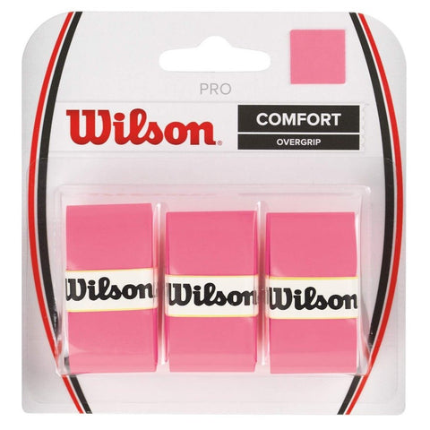 Wilson Pro Overgrip 3 Pack (Pink) - RacquetGuys