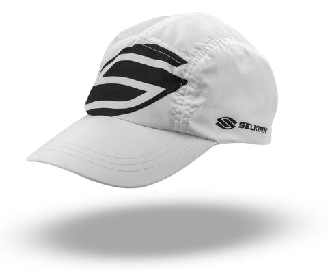 Selkirk Big Logo Jockey Hat (White) - RacquetGuys.ca