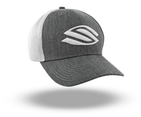 Selkirk Heather Trucker Hat (White) - RacquetGuys.ca