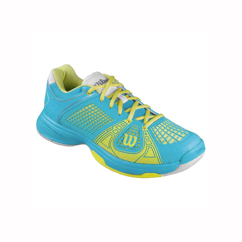 Wilson Rush NGX Women's Tennis Shoe (Blue/Green)