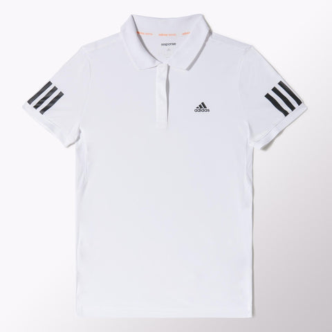 adidas Women's Response Traditional Polo (White/Black)