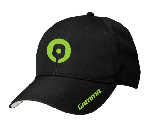 Gamma Pickleball Hat (Black) - RacquetGuys