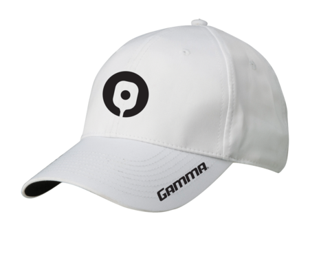 Gamma Pickleball Hat (White) - RacquetGuys